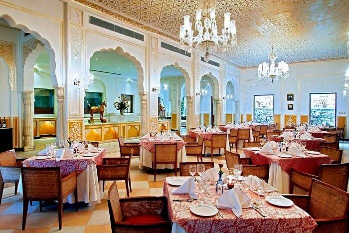 Samode Haveli Restaurant, Jaipur