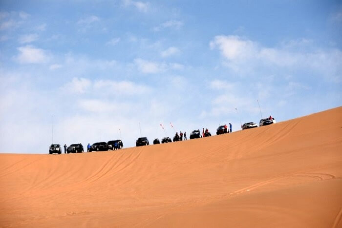 wide view of tengger desert