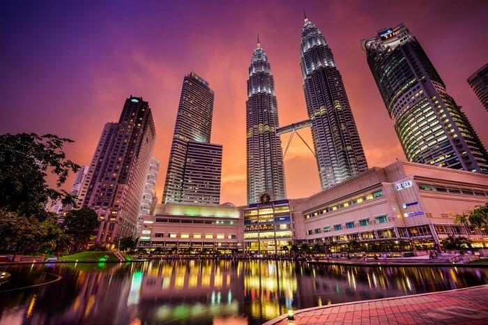 skyline views of Malaysia