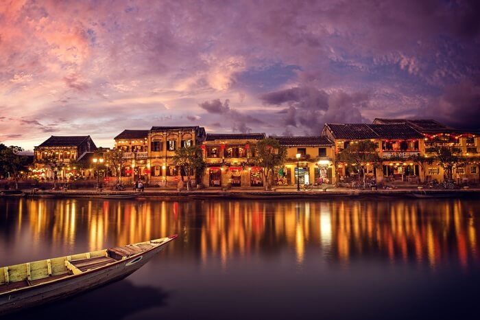 Hoi An City in Vietnam