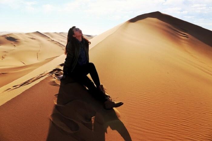 weather in tengger desert mongolia