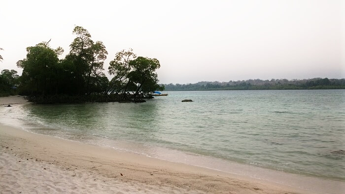 Elephant beach in Andaman