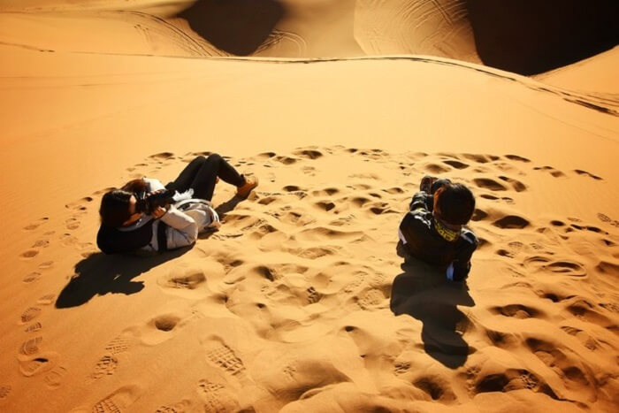 deserts mongolia