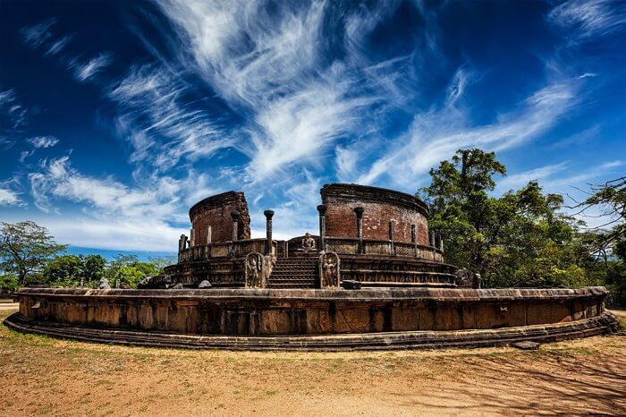historical monument in Sri Lanka