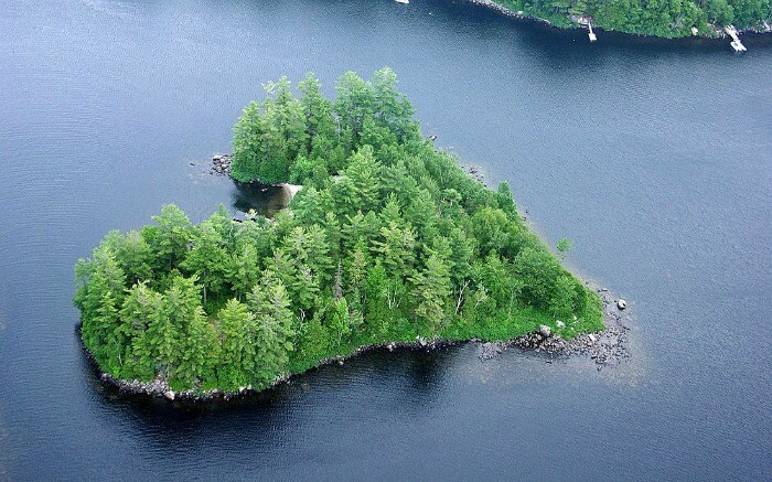 Blueberry Island in Canada
