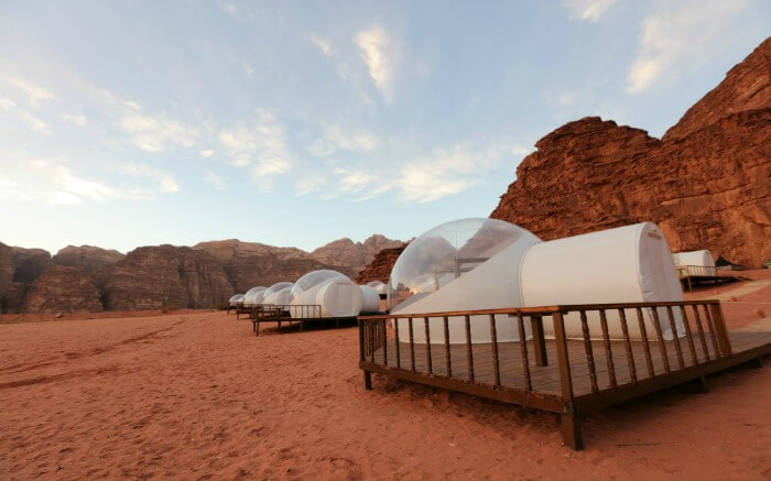Bubble Room Wadi Rum Night Luxury Camp