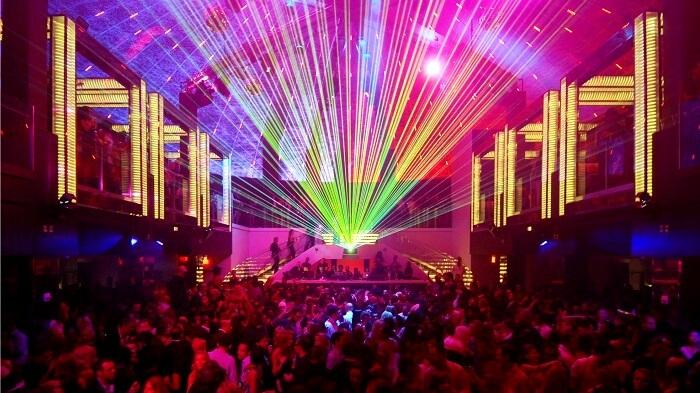 party in nightclub
