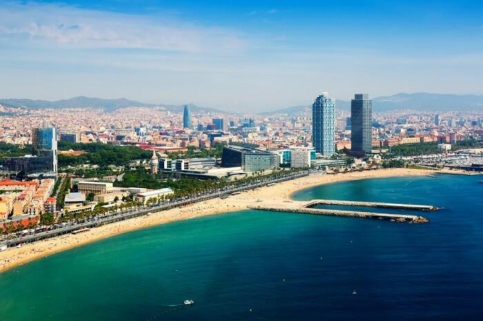 beaches in Barcelona