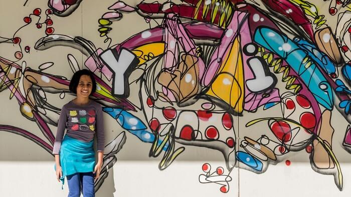 Graffiti art in Christchurch