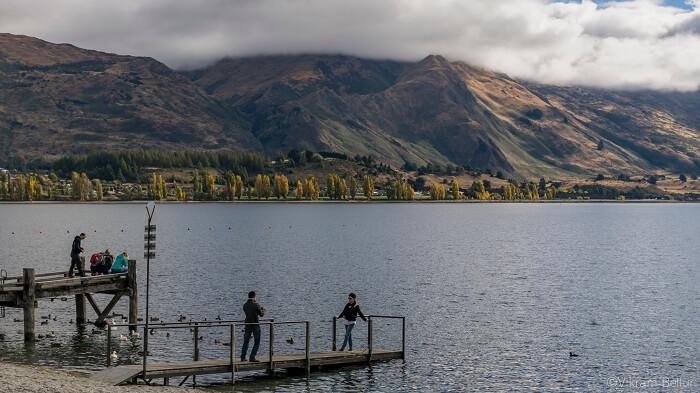 Wakatipu lake in queenstown