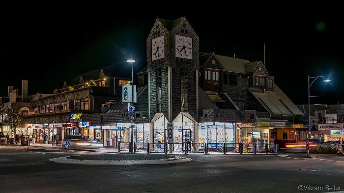 clock tower of queenstown