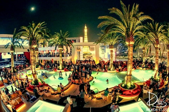night pool parties in las vegas