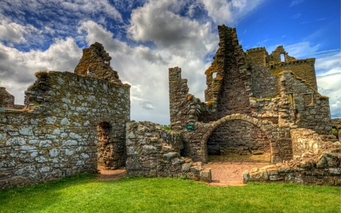 Ruins of Dunnottar Castle - one of the best Scottish castles