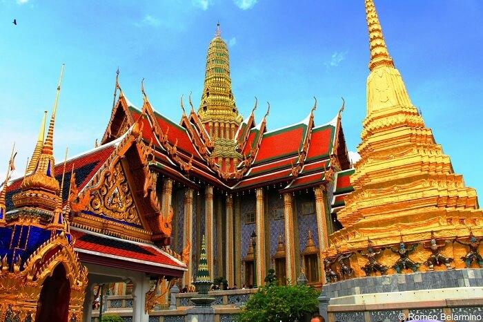 Grand palace thailand