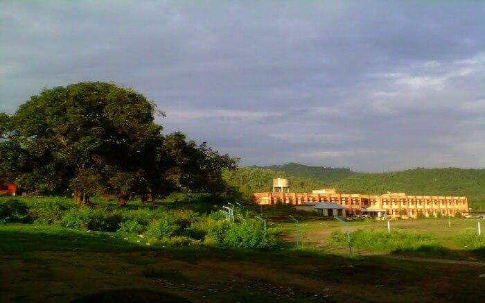 Hamirpur hills in Himachal