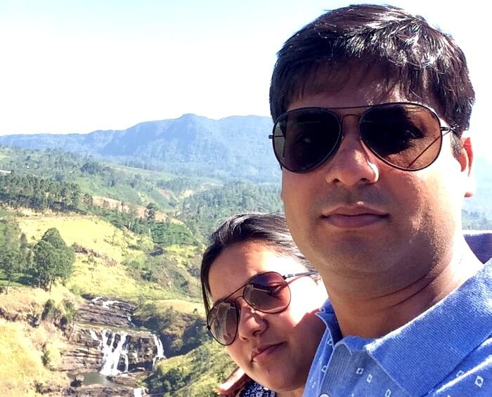 waterfalls enroute Kandy