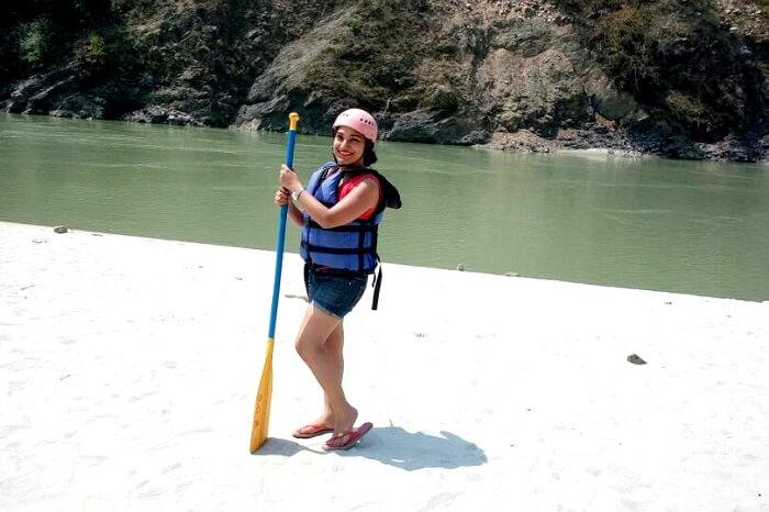 starting rafting in shivpuri