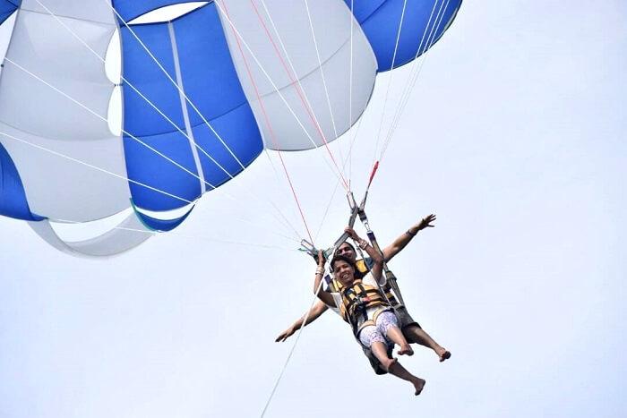 mauritius para gliding