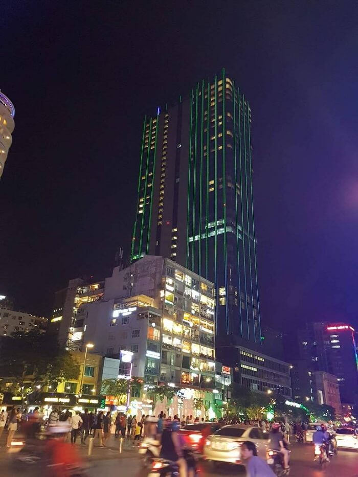 ho chi minh city during the night time