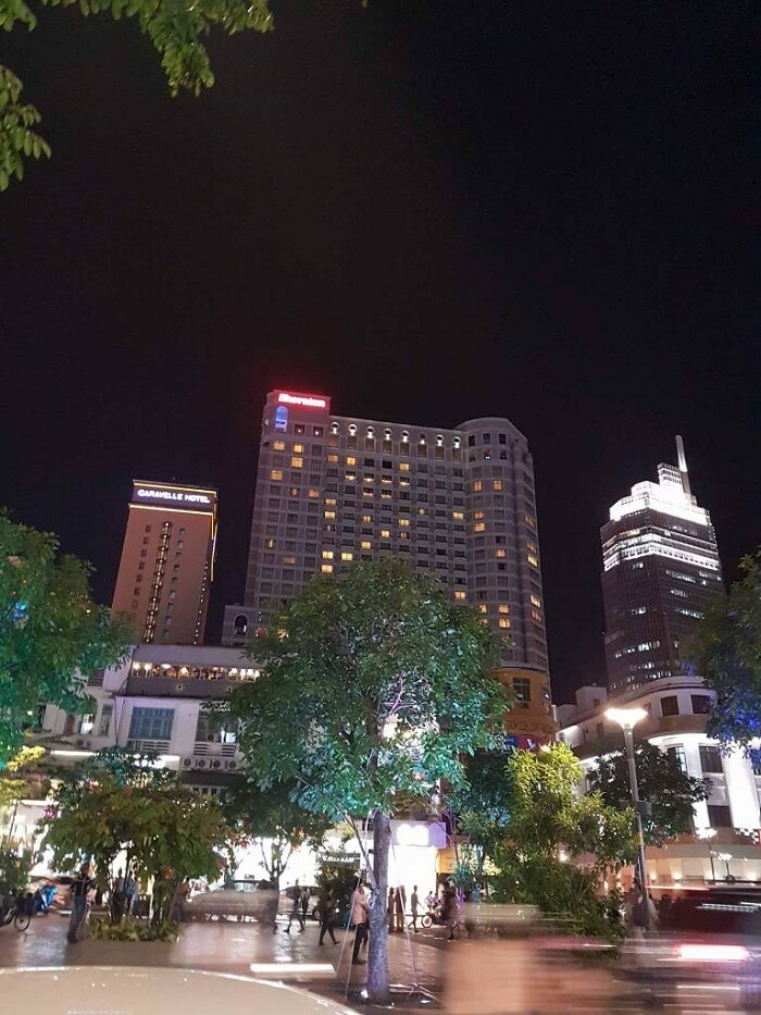 nightlife of ho chi minh city