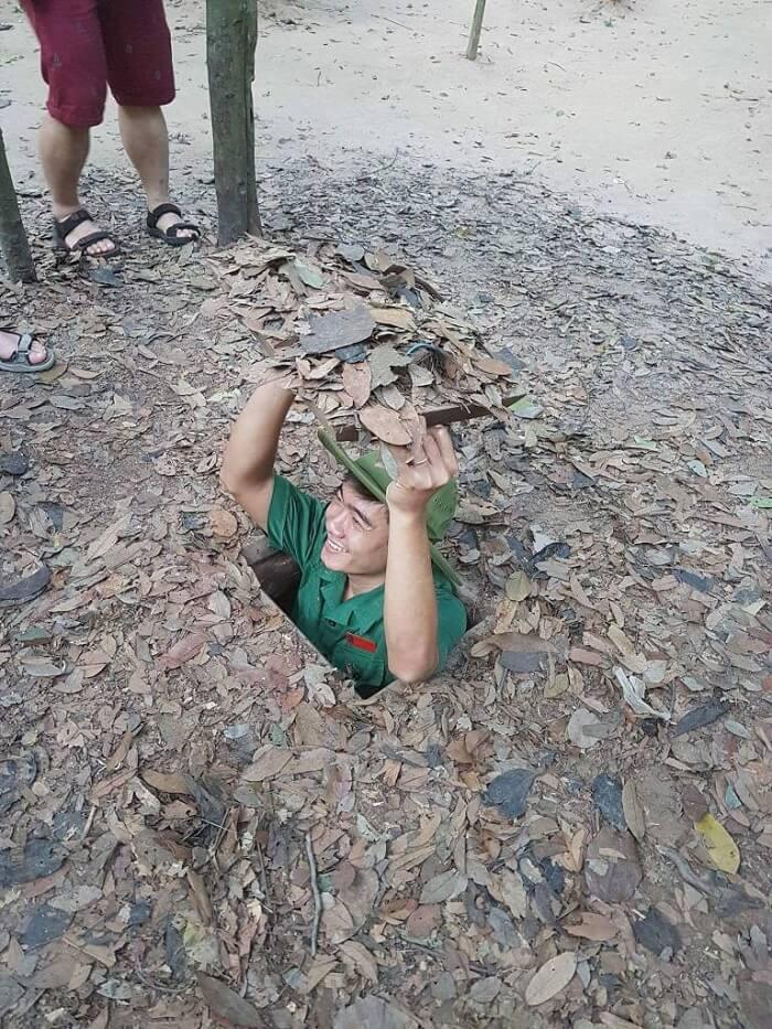 vietnam cu chi tunnels visit