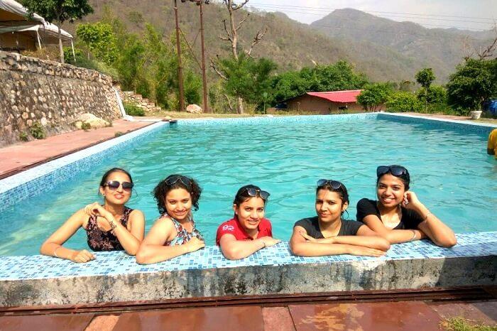 pool party in rishikesh