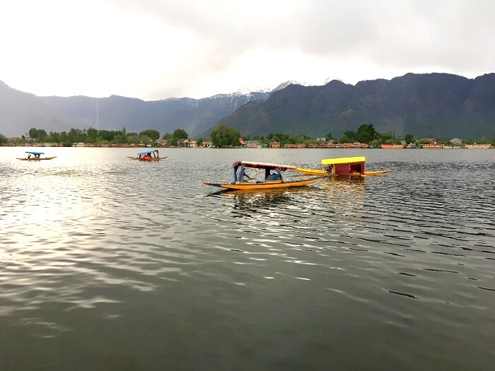 lakes in srinagar