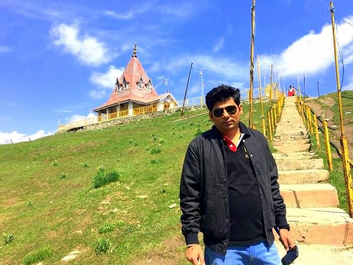 temples in gulmarg
