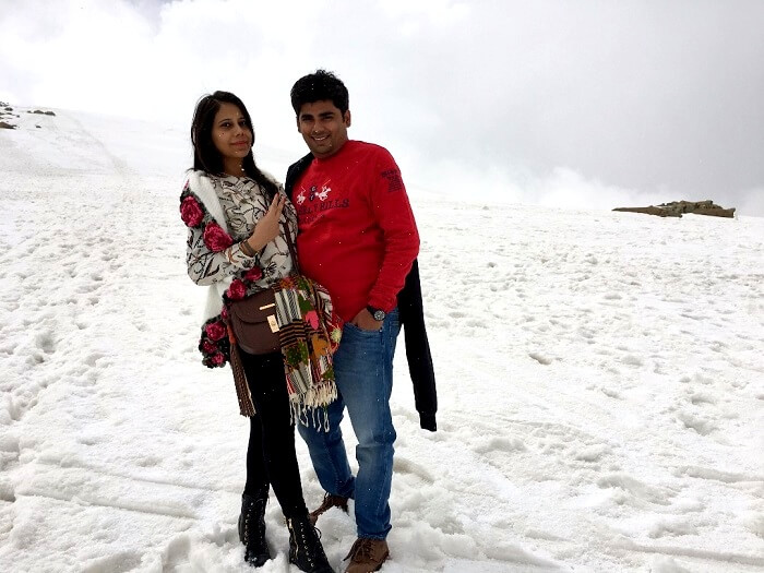 couples trip in gulmarg