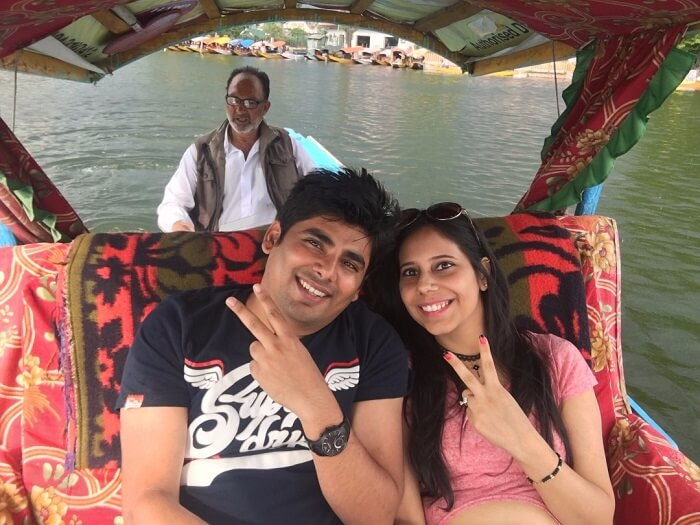boat ride in dal lake