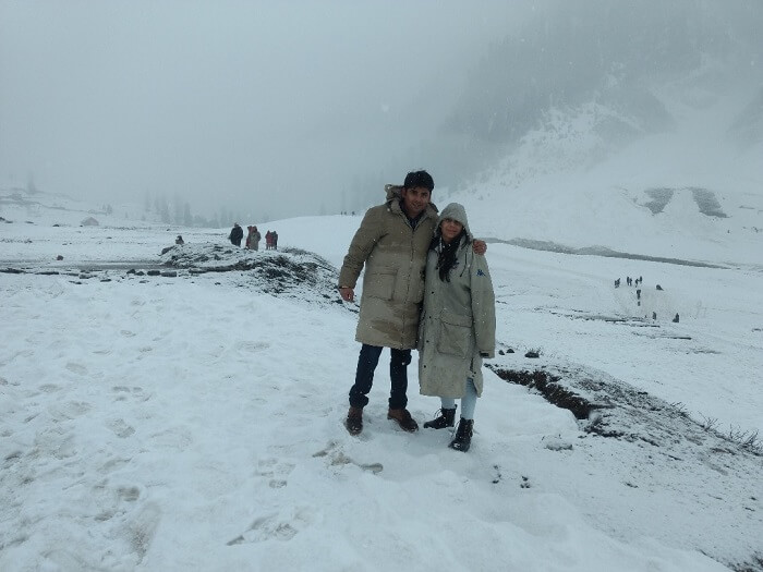 romantic trip to kashmir