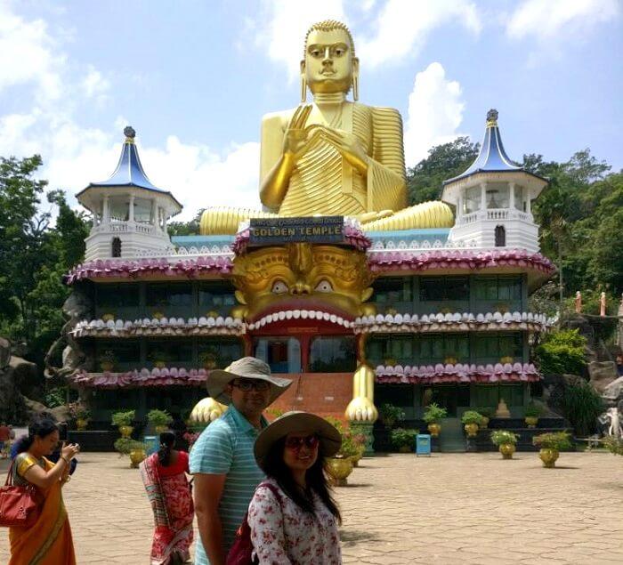 buddhist statue in kandy