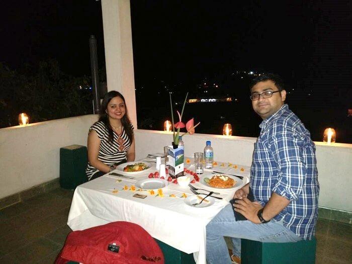 romantic dinner in sri lanka