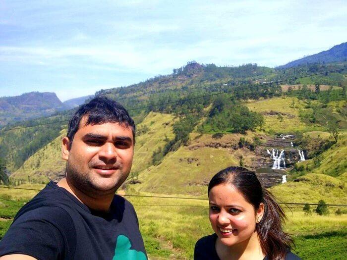 mountains near nuwara eliya