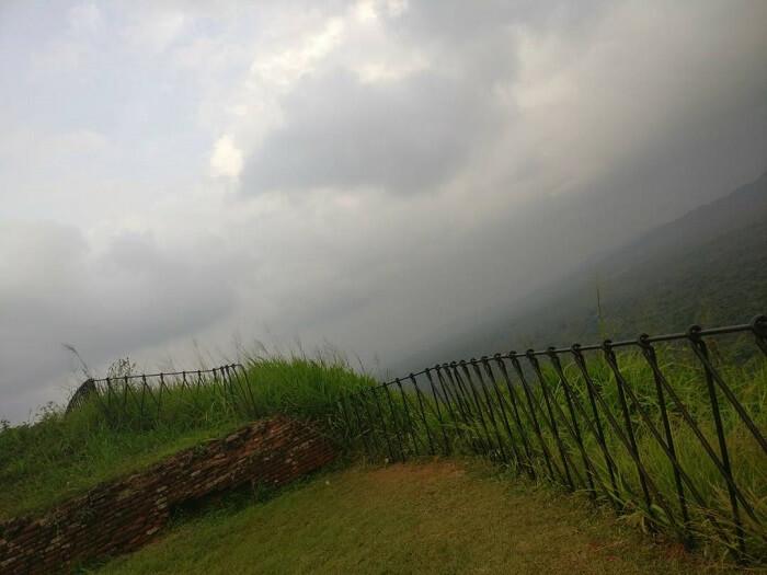 scenic view in mirissa