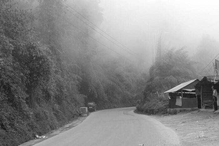 route to darjeeling