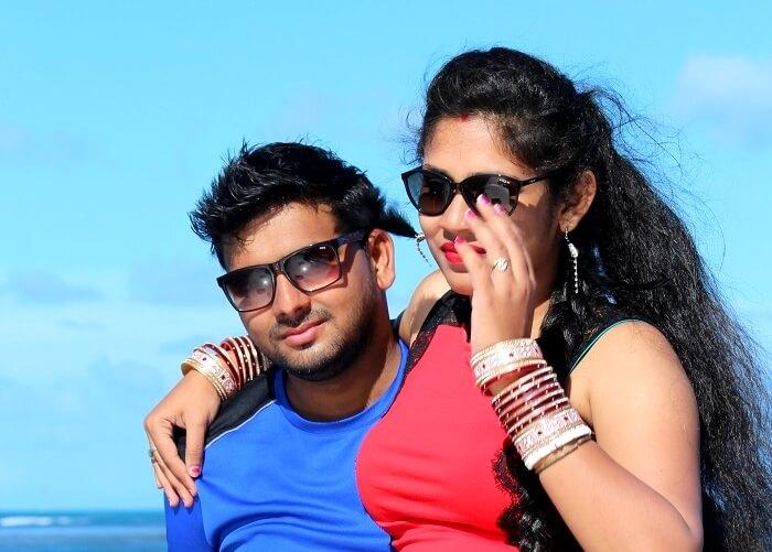 couple in mauritius