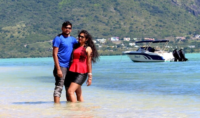 honeymoon trip to Mauritius