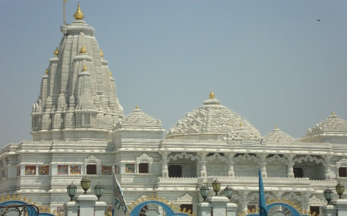 Iskon Temple in Vrindavan