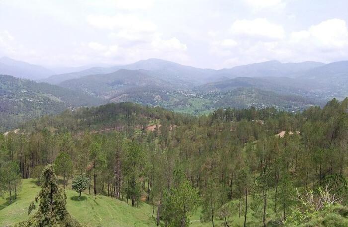 Kausani Mountains