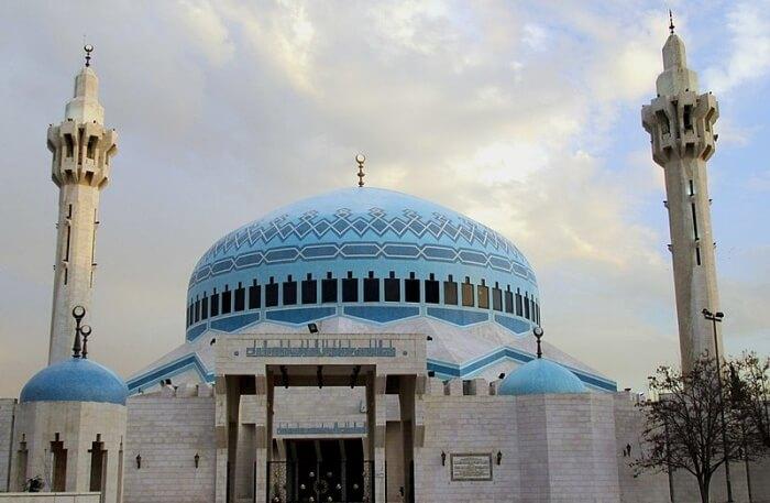 King Abdullah I Mosque View