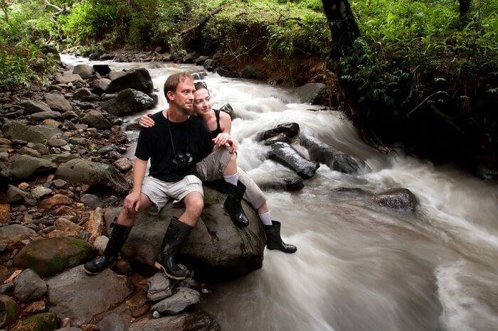 couple in monteverde