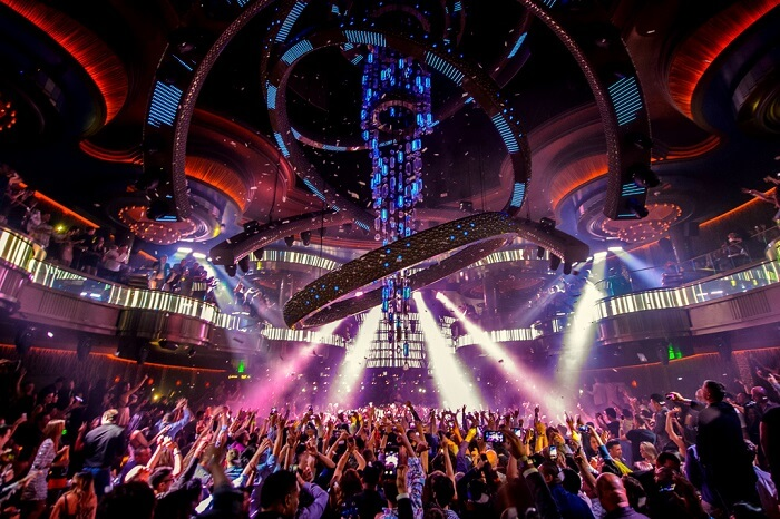 top nightclubs las vegas