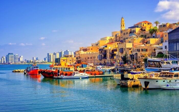 Port of Jaffa in Israel