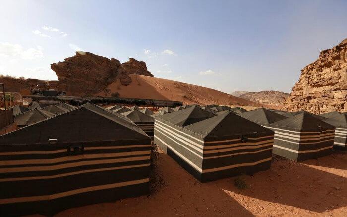 Rahayeb Tents in Wadi Rum