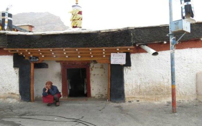Rooms in Key Monastery in Himachal Pradesh
