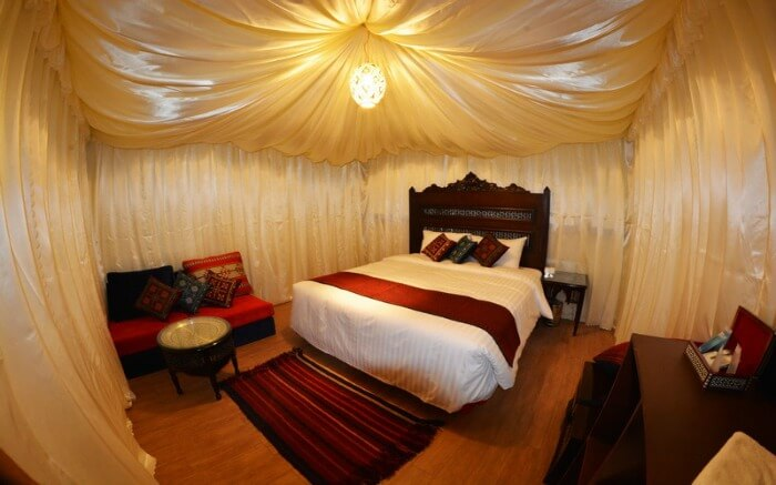 Tent room Wadi Rum Night Luxury Camp