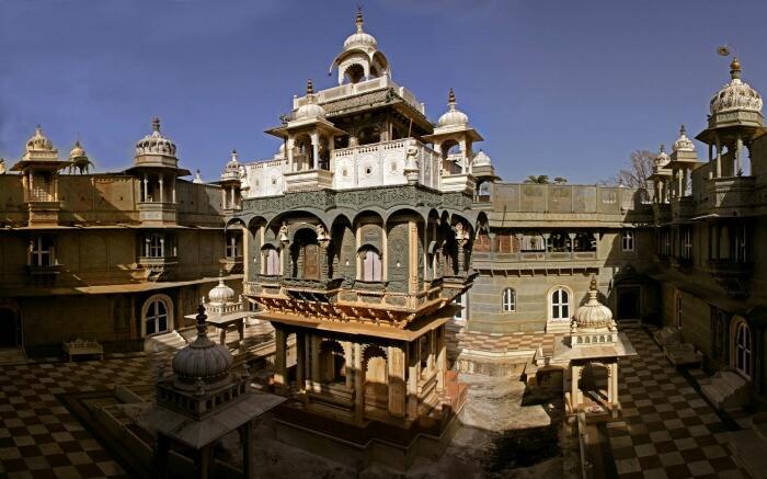 Udai Bilas Palace in Udaipur