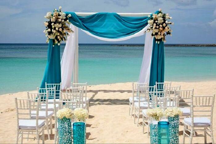 beach wedding atlantis