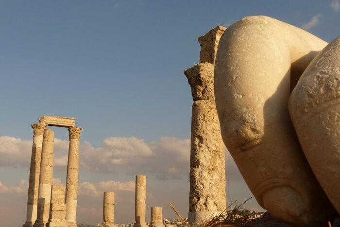 Citadel Hill Holiday Travel Amman Jordan
